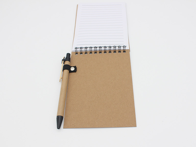 Spiral-Notebook-with-pen-back-cover