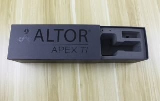 Altor packaging box inside eva
