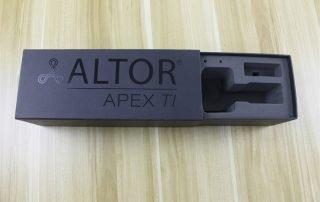 Altor packaging box inside eva