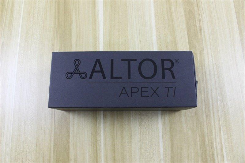 Altor packaging Black drawer box