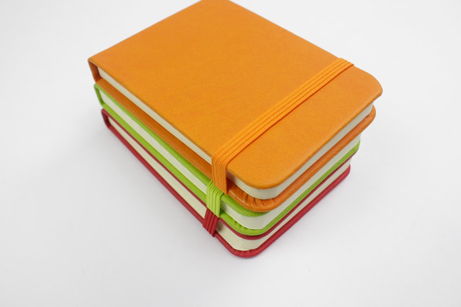 A7 PU Leather Cover notebook with Tear off Paper 192 pages