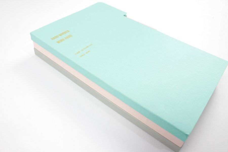 Custom A5 Tab Notebook binding