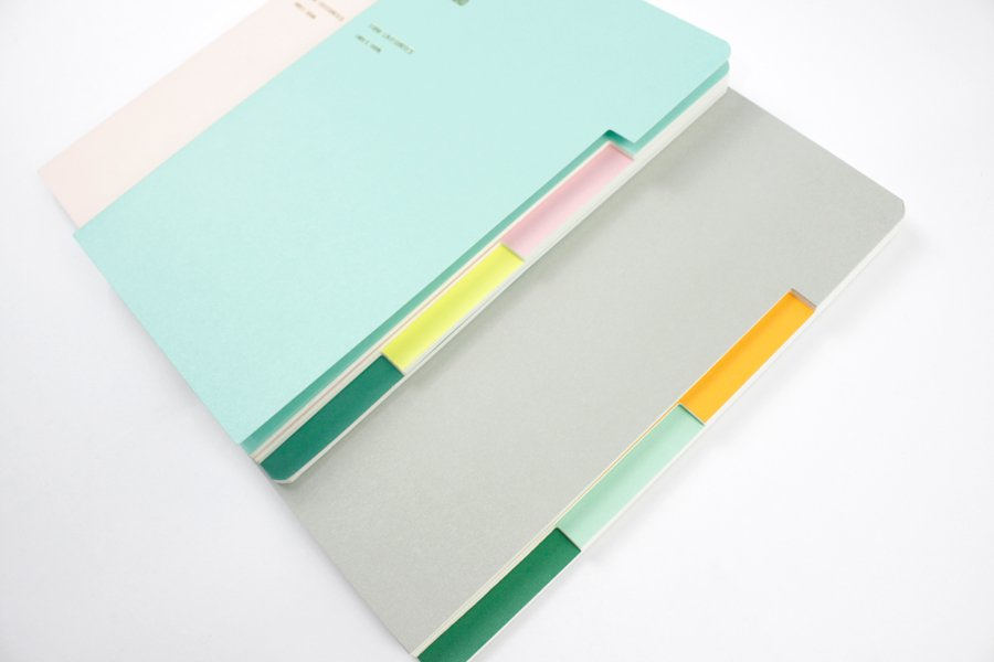Custom A5 Tab Notebook