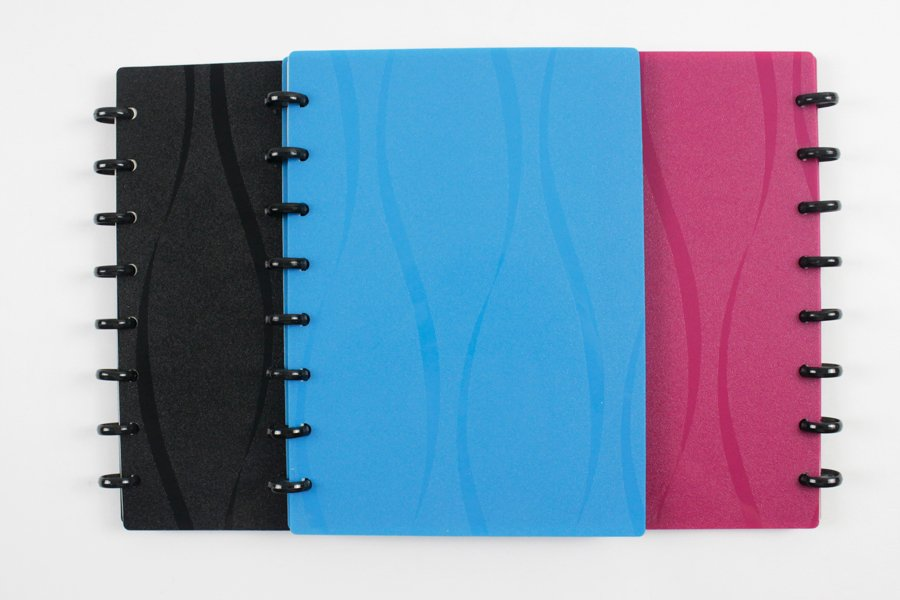 Custom-Discbound-Notebook colorful plastic cover