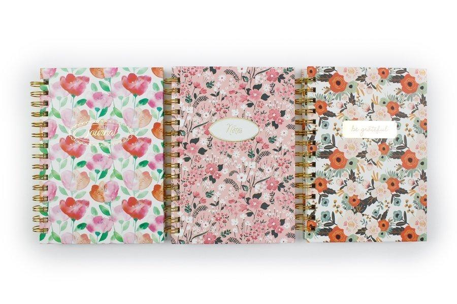 Custom Hardcover Spiral Notebook & Journal