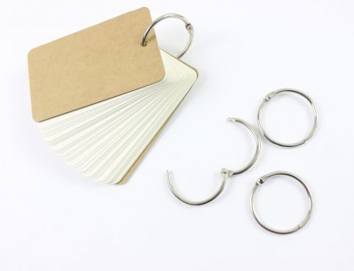 Custom Loose-Leaf Rings Binding Notepad