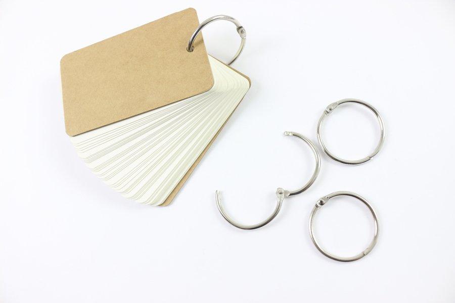 Custom Loose-Leaf Rings Binding Notepad