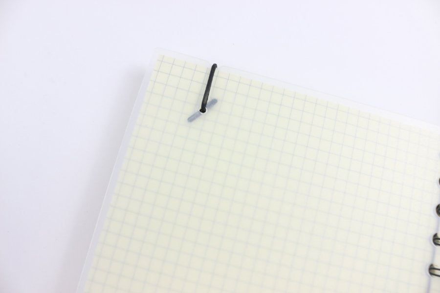 Custom Plastic Cover Notebook back