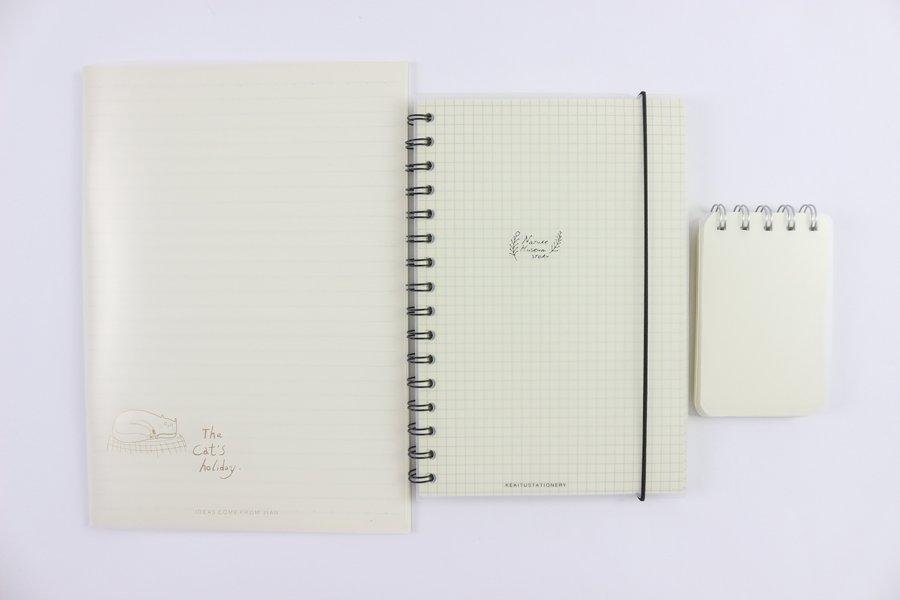 Custom Plastic Cover Notebook