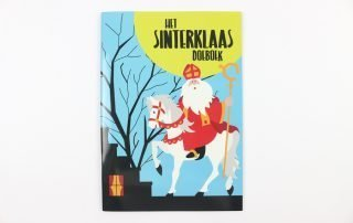 Custom sticker book ( the sinterklaas doeboek)