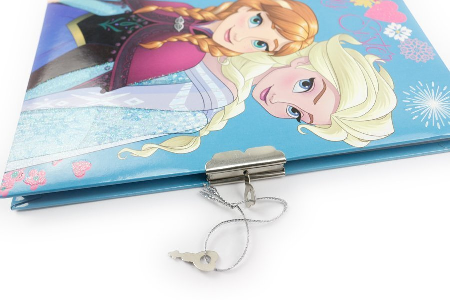Disney Frozen Notebooks with lock and key (3)