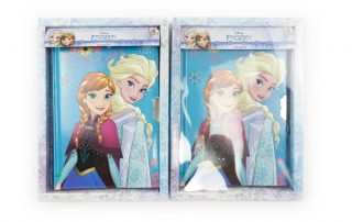 Disney Frozen Notebooks with lock and key