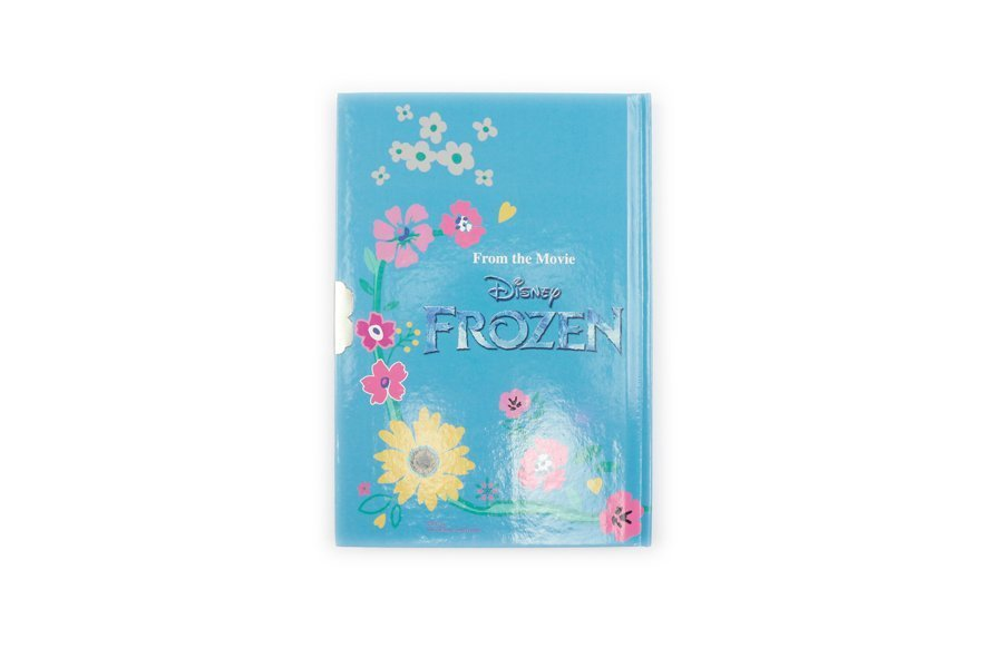 Disney Frozen Notebooks with lock back