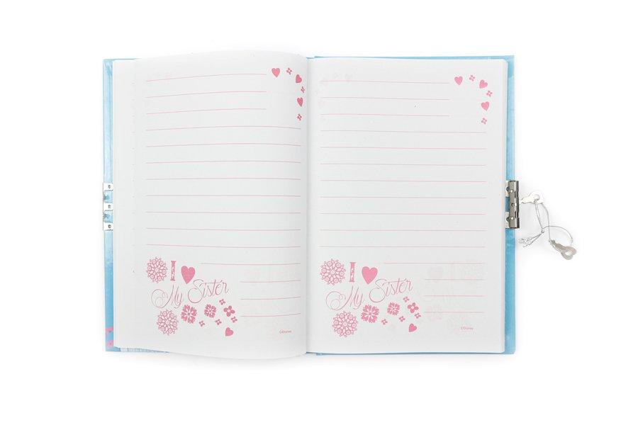 Disney Frozen Notebooks with lock inside