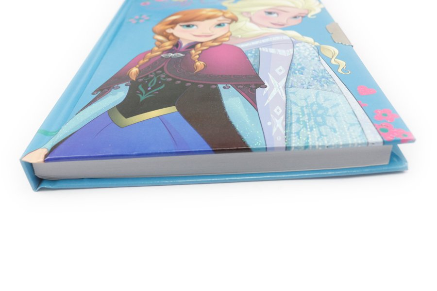 Disney Frozen Notebooks with lock thickness