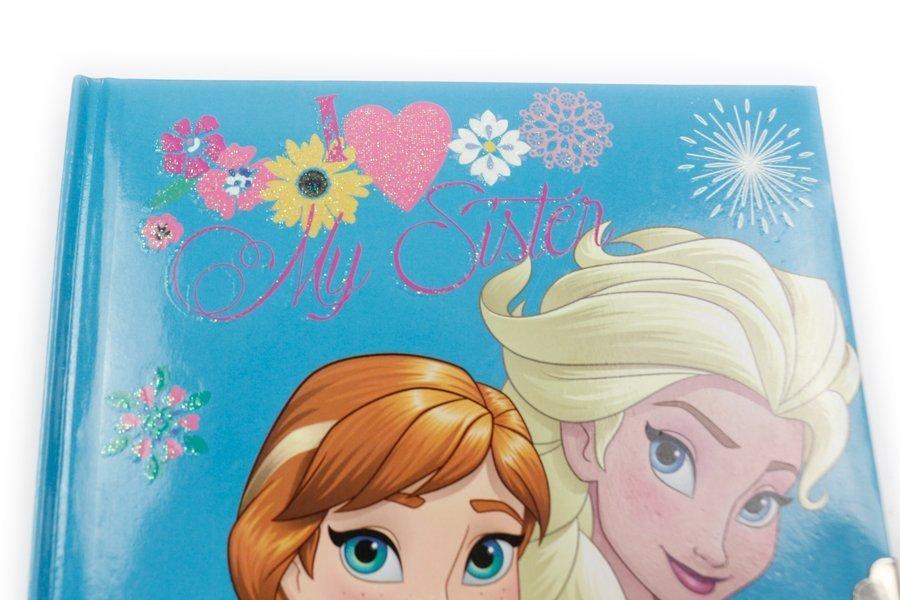 Disney Frozen Notebooks with lock top