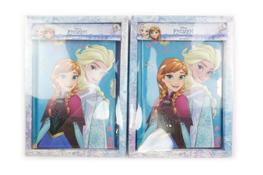 Disney Frozen Notebooks with lock