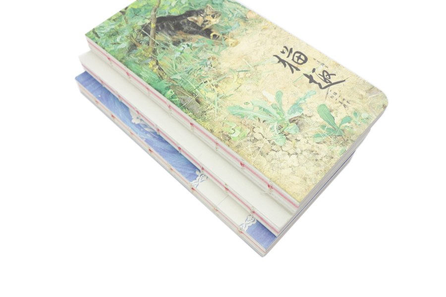 Exposed Spine Binding Notebook