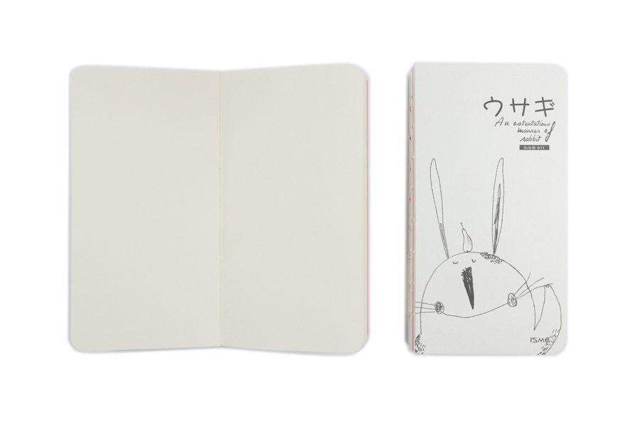 Exposed Spine Binding Notebooks (4)