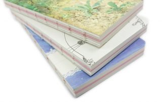 Exposed Spine Binding Notebooks (5)