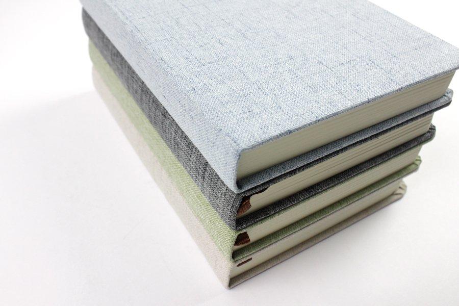 Linen Hardcover Notebook (2)