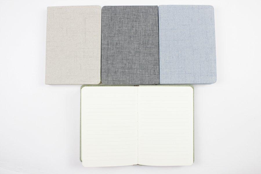 Linen Hardcover Notebook inside inside