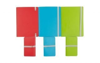 Singer Sewn Binding Notebooks with Elastic Band Closure