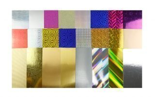 The Glitter Paper, Gold Paper, Silver Paper etc.
