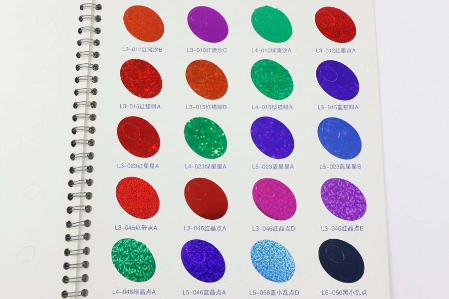 hot stamping colors 10