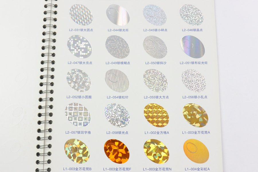 hot stamping colors 7