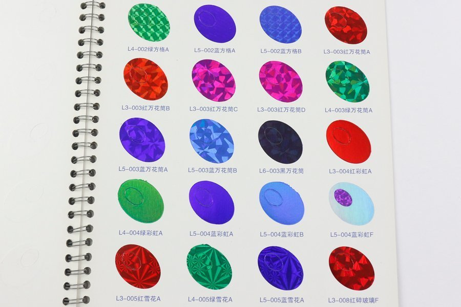 hot stamping colors 9