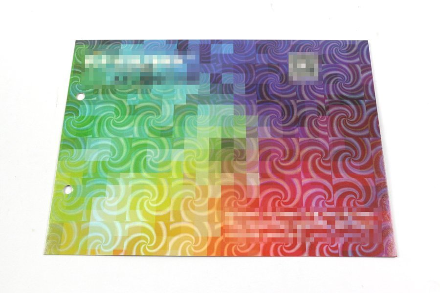 BOPP Hologram Laser Thermal Lamination Film24.2 1
