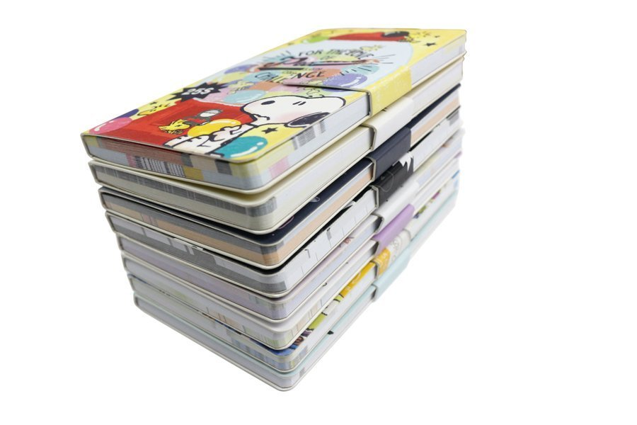 Custom notepad with magnet closure full color printing