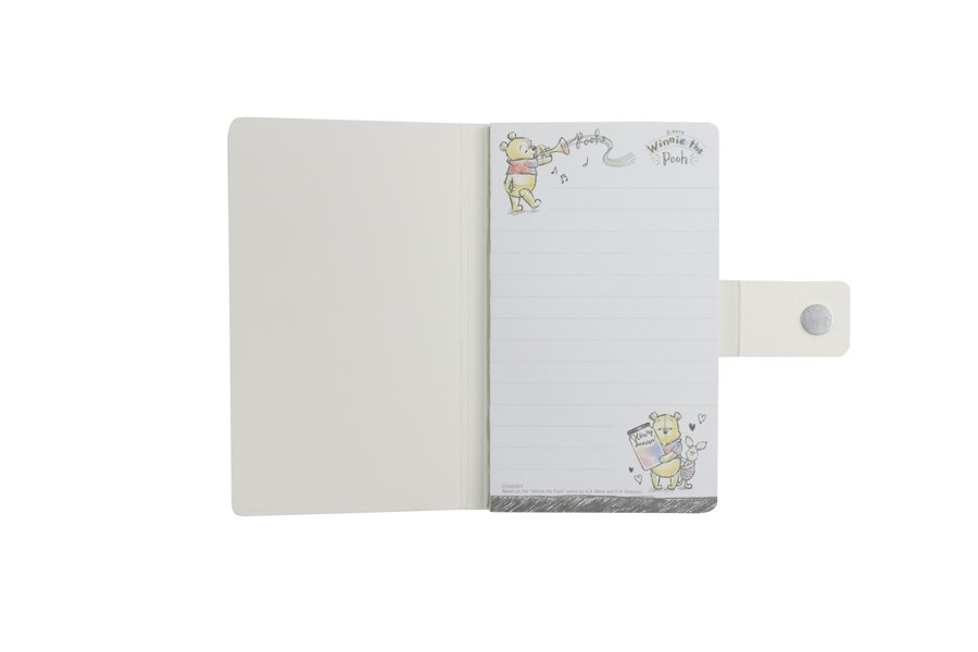 Custom notepad with magnet closure inside
